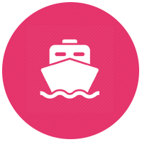 Safe import boat icon